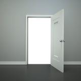 Ouvrez la porte Photographie stock