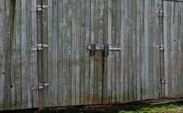 Ouvrez la porte de grange photo libre de droits