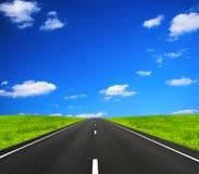 Ouvrez la route Photos stock