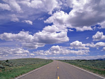 Ouvrez la route Image stock