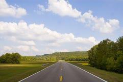 Ouvrez la route en avant Photos stock