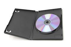 Ouvrez la valise de DVD photos libres de droits