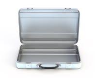 Ouvrez la valise en métal Image libre de droits