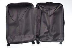 Ouvrez la valise vide Photo libre de droits