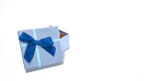 Ouvrez le boîte-cadeau photos libres de droits