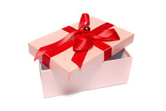 Ouvrez le boîte-cadeau Image libre de droits