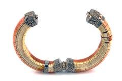 Ouvrez le bracelet en ivoire Photographie stock libre de droits