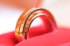 Ouvrez le cadre de boucles de mariage Image stock