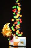 Ouvrez le cadre de cadeau Image stock