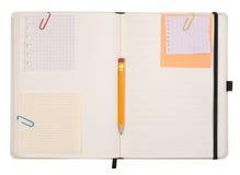Ouvrez le cahier Photographie stock libre de droits