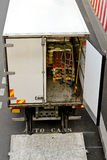 Ouvrez le camion Photo stock