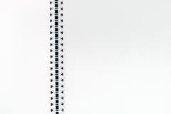 Ouvrez le carnet de notes à spirale d'isolement sur le blanc Image libre de droits