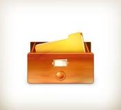 Ouvrez le catalogue sur fiches Photographie stock libre de droits