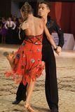 Ouvrez le concours latin de danse Image libre de droits