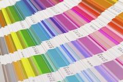 Ouvrez le guide de couleur Photographie stock libre de droits