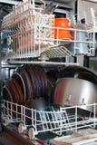 Ouvrez le lave-vaisselle photographie stock