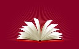 Ouvrez le livre illustration de vecteur