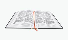 Ouvrez le livre. Images libres de droits