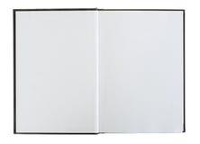 Ouvrez le livre avec les pages blanc. Photos libres de droits