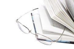 Ouvrez le livre et les glaces Photo libre de droits