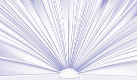 Ouvrez le livre, fond gentil Photographie stock