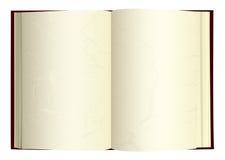 Ouvrez le livre vieux illustration stock