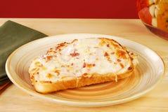 Ouvrez le sandwich fait face Images libres de droits