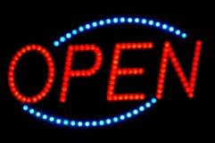 Ouvrez le signe Image libre de droits