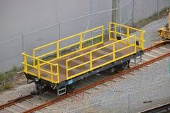Ouvrez le transporteur de rail images stock