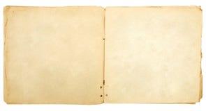 Ouvrez le vieux livre Image stock