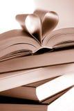 Ouvrez les livres Photo stock