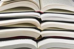 Ouvrez les livres Photographie stock libre de droits