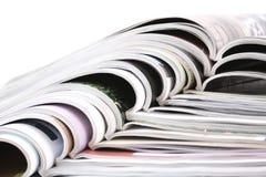 Ouvrez les revues Photo stock