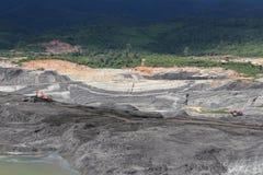 Ouvrez Pit Mine Photographie stock libre de droits