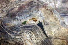 Ouvrez Pit Mining Image stock