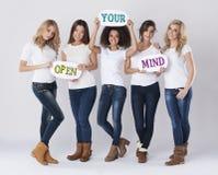 Ouvrez votre esprit Image libre de droits