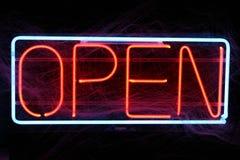 Ouvrez-vous pour des affaires images stock