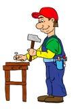 Ouvrier illustration de vecteur