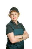 Ouvrier aîné - fierté personnelle Images libres de droits