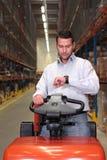 Ouvrier d'entrepôt image libre de droits