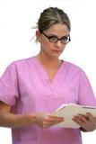 Ouvrier d'hôpital Photo stock