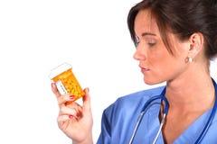 Ouvrier de Medcal Photographie stock