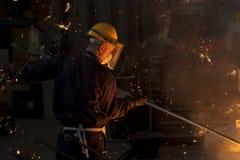 Ouvrier industriel photo libre de droits