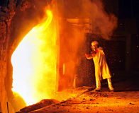 Ouvrier industriel images libres de droits