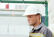 Ouvrier industriel images stock