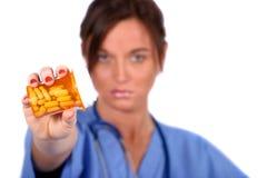 Ouvrier médical Photos libres de droits