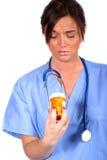Ouvrier médical Images libres de droits