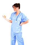 Ouvrier médical Image stock