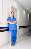 ouvrier médical Photographie stock