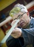 Ouvrier métallurgiste photo stock